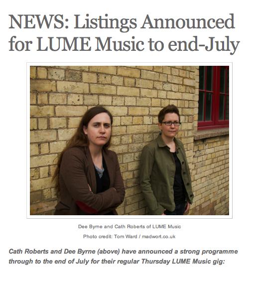 Dee Byrne + Cath Roberts