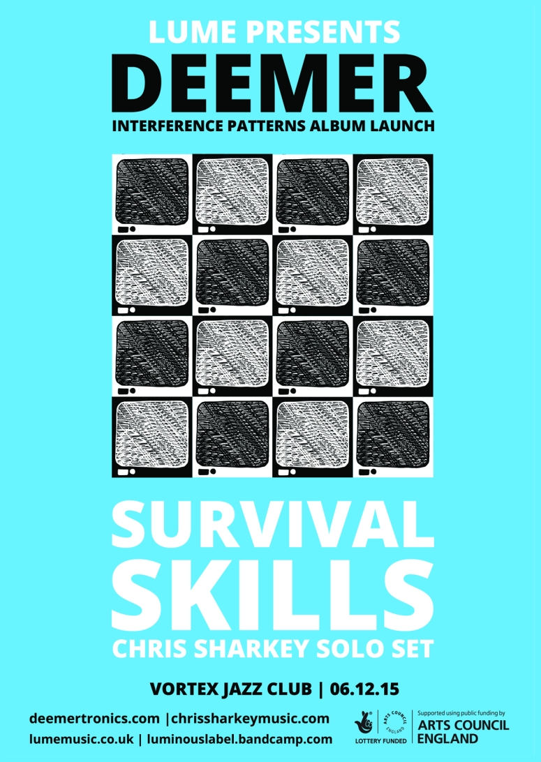 Deemer survival skills A6 flyer