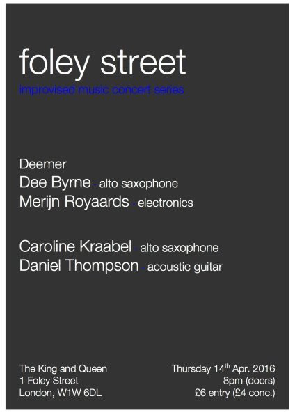 FOLEY STREET FLYER