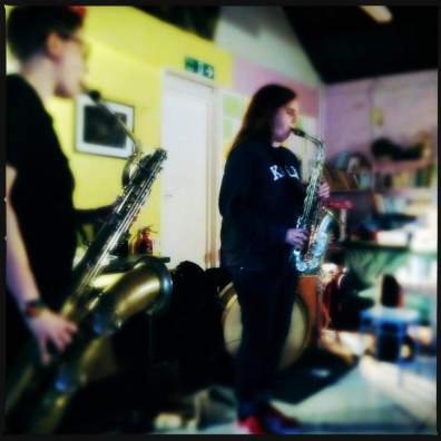 Cath Duo at Linear Obsessional Live
